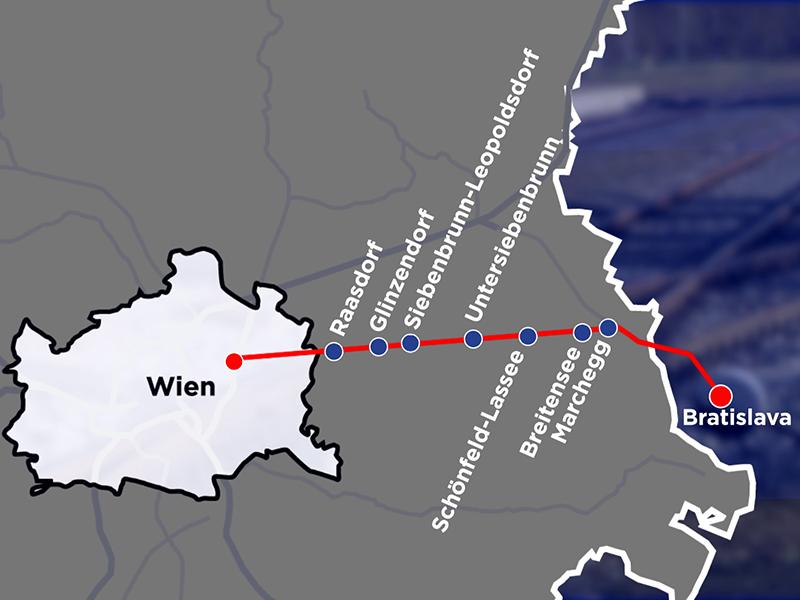 Bahnstrecke Wien Bratislava Ostbahn