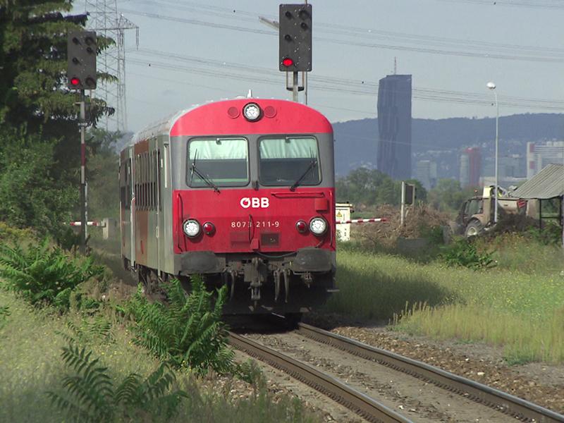 Ostbahn ÖBB Zug