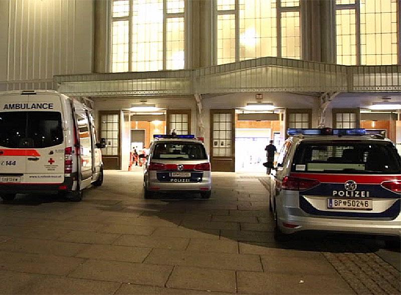 Cobra deployment main station Salzburg police rescue
