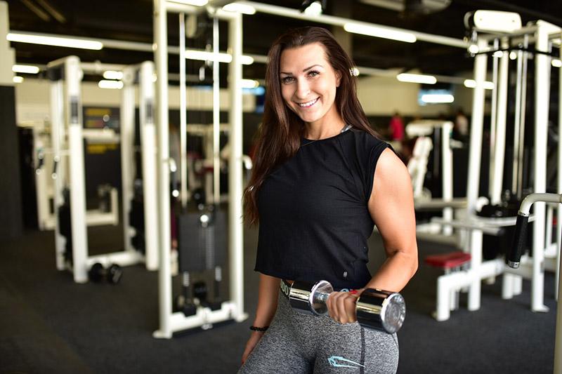 Sport-Bloggerin und Instagram-Influencerin Eva Saischegg