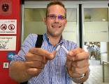 Radio Wien-Hörer Christoph Nell vor Rauchentwöhnung