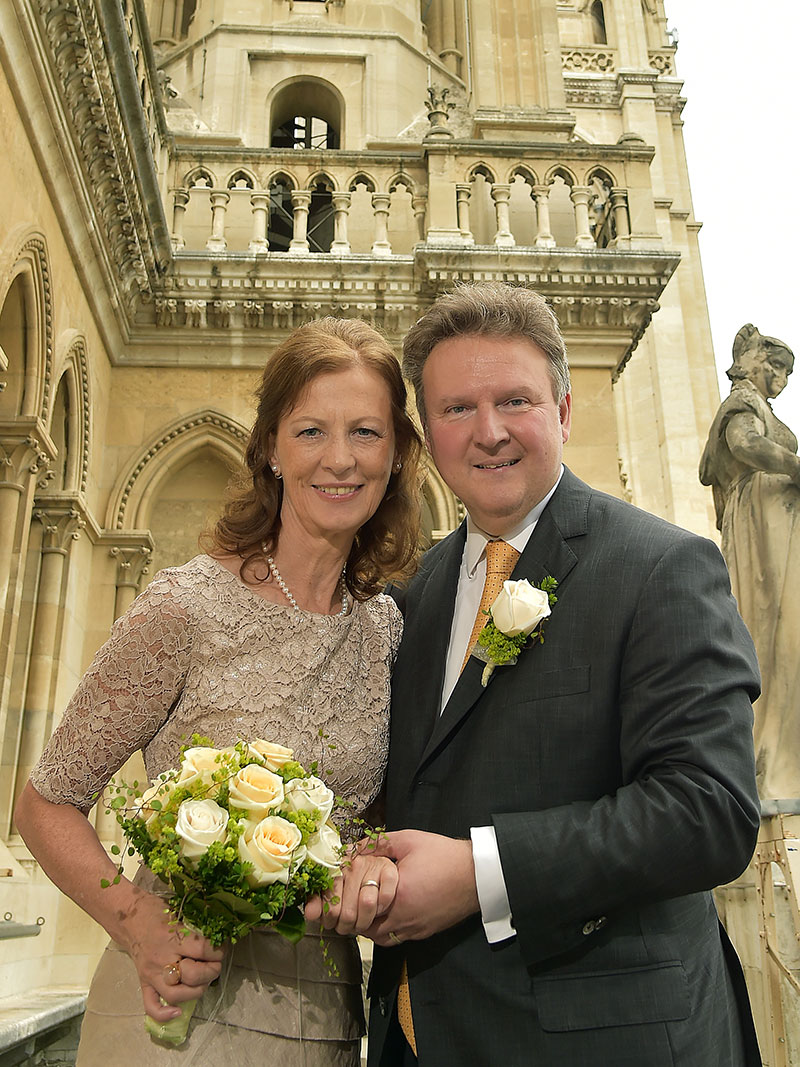 Hochzeitsfoto von Irmtraud Rossgatterer und Michael Ludwig