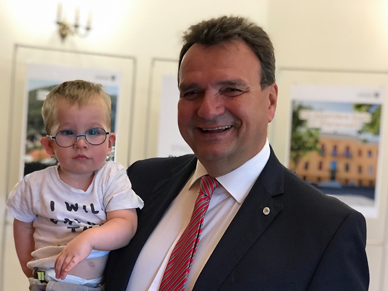 Karl Schlögl SPÖ Enkel Felix