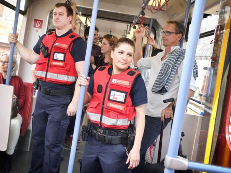 U-Bahn-Security jetzt mit Bodycams