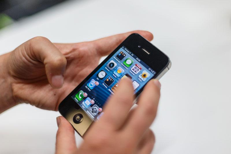 Handy Smartphone Nutzung