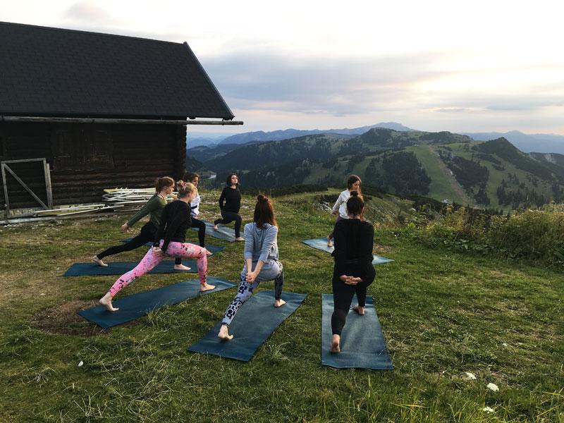 Yoga am Berg Hochkar