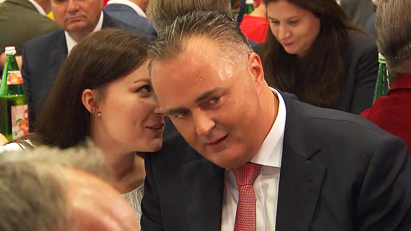 Hans Peter Doskozil mit seiner Tochter Laura