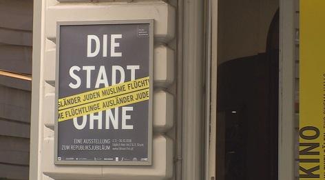 """Ausstellung """"Die Stadt ohne"""""""