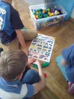 Erster Schultag Komenský