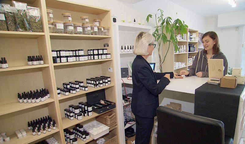 Produkte aus legalem Cannabis