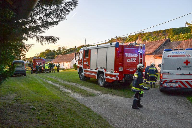 Presshaus Feuerwehrauto