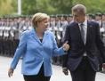 Angela Merkel s Andrejem Babišem