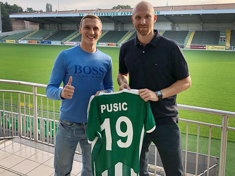 Martin Pusic und Robert Almer