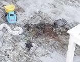 Familie auf Campinplatz in Abersee durch Brennspiritus schwer verletzt