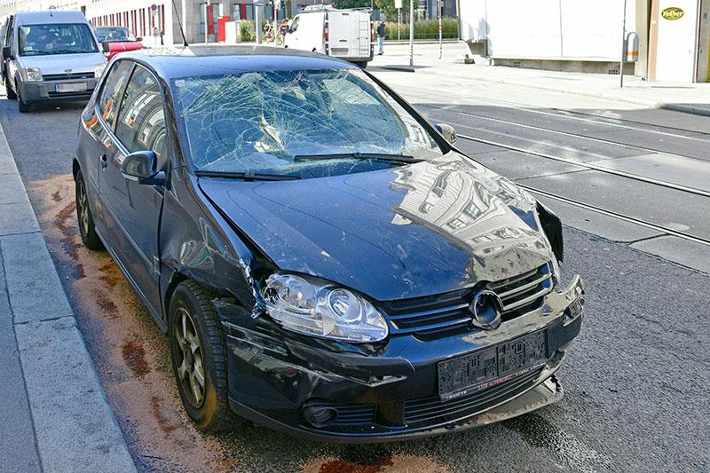 Verkehrsunfall Wattgasse Ottakring