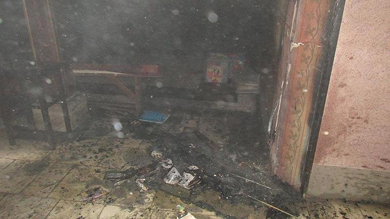 Brand in evangelischer Kirche Lendkanal