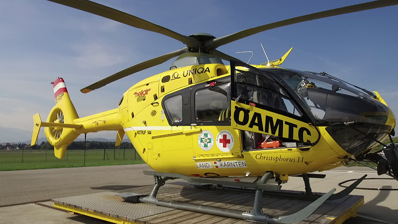 ÖAMTC 10.000 Hubschraubereinsatz