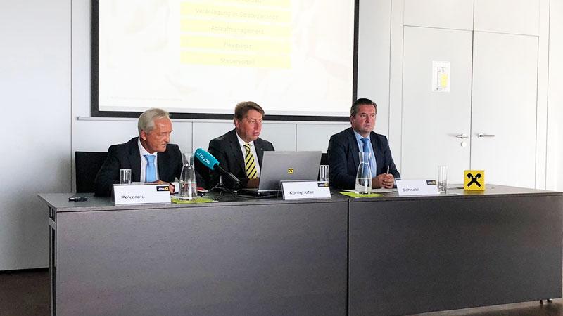 Klaus Pekarek, Rudolf Könighofer, Rainer Schnabl