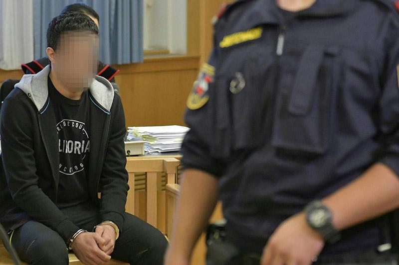 : PROZESS NACH MESSERATTACKEN IN WIEN-LEOPOLDSTADT