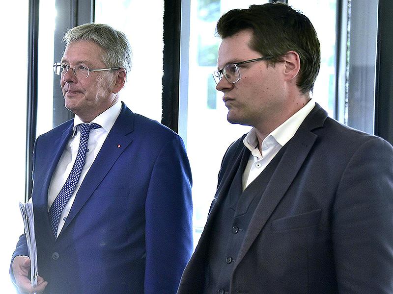 Peter Kaiser und Jürgen Czernohorszky
