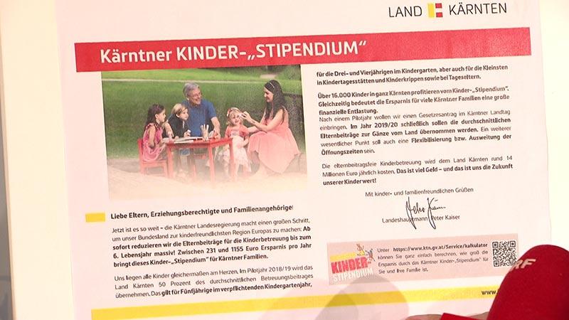FPÖ Darmann Kinderstipendium Kritik an SPÖ