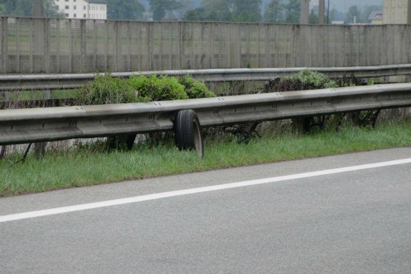 Verlorene Gegenstände Autobahn