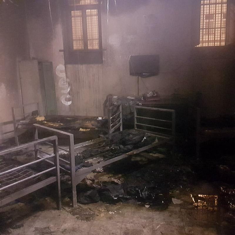 Brand In Paz Ein Häftling Noch Auf Intensivstation Wienorfat