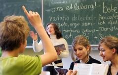 Ein Viertel der Schüler hat eine andere Umgangssprache als Deutsch