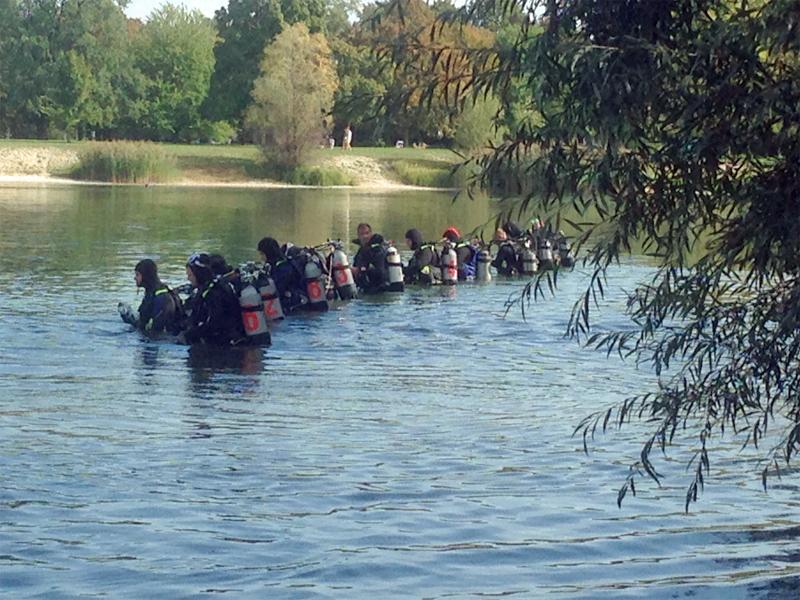 Suche Vermisster Ertrunkener Taucher Pichlinger See