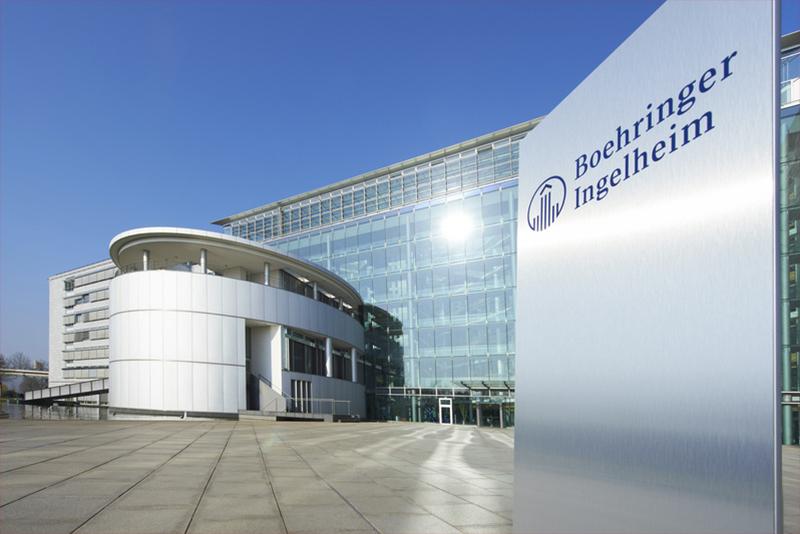 Firmensitz von Boehringer Ingelheim