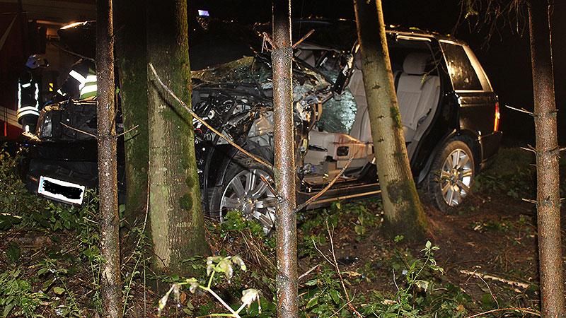 Autounfall im Bezirk Oberwart
