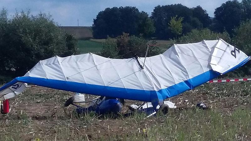 Ultraleichtflugzeug in Pinkafeld abgestürzt