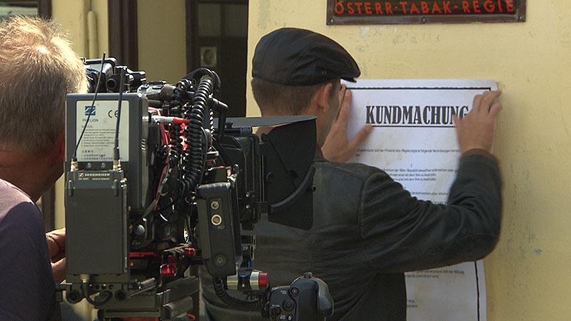 Dreharbeiten Universum Burgenland