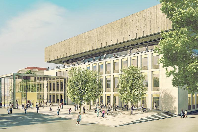 Rendering Wien Museum
