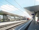 Pläne Bahnhof Parndorf