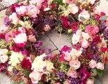 Gut gepflanzt Blumenkranz