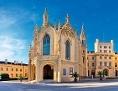 Kostel sv. Jakuba staršího zámek Lednice