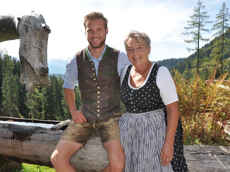 Kajetan und Ruth Gerharter, Almleute auf der Lärchbodenalm in Ramsau