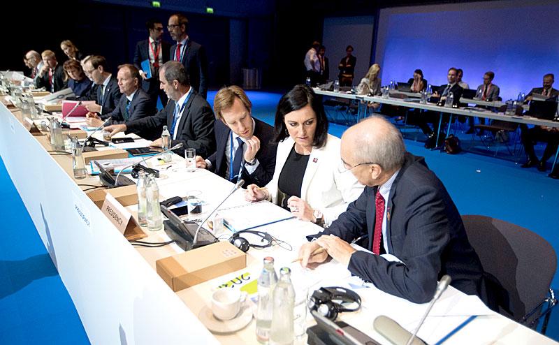 Europas Energieminister in Linz