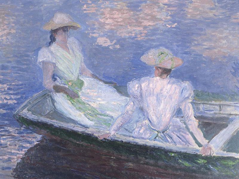 Junge Mädchen im Boot, 1887
