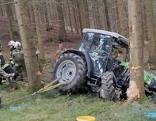 Traktorunfall