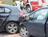 Unfall auf der S6