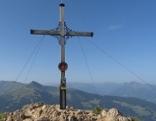 Gipfelkreuz der Gratlspitze
