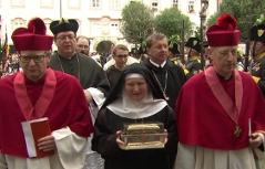 Prozession zu Ehren der Landesheiligen