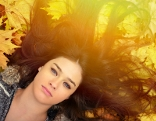 Herbst Frau Haare Frisur