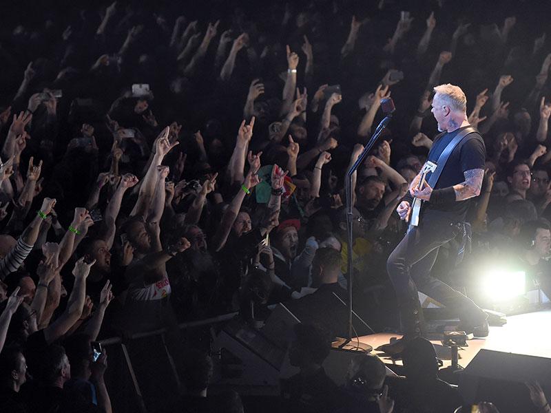 James Hetfield Stadthalle Metallica