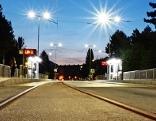 Regionalbahn in der Reichenauer Straße
