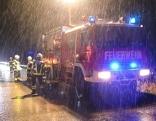 Feuerwehr im Sturm-Einsatz