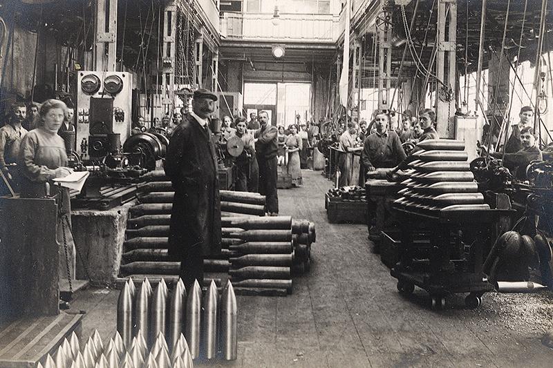 Munitionsfabrik Wöllersdorf 1914 bis 1918