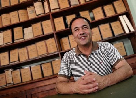 Domenico Lucano, Bürgermeister von Riace im italienischen Kalabrien